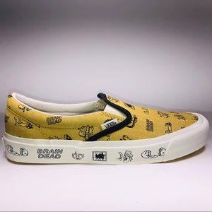 VANS Braindead Classic Slip On LX Aspen Gold Shoes